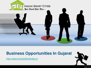 Business Opportunities In Gujarat