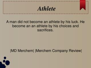 MD Merchem - Athlete
