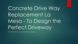 Concrete Company San Diego