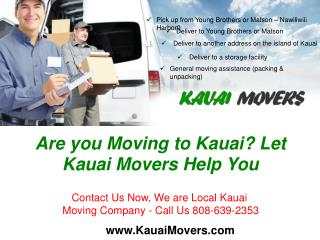 KAUAI MOVERS