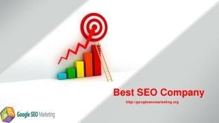 Best SEO Company
