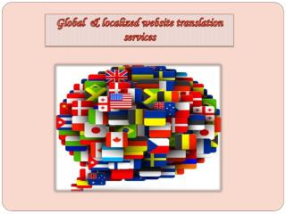 Global & Localized Website Translation Services