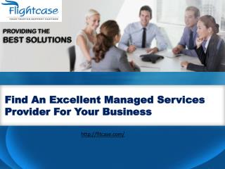Managed Services Provider for Your Business