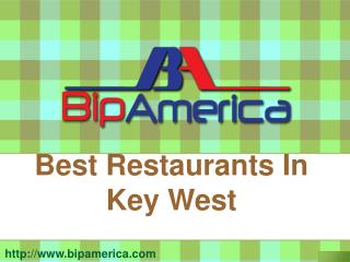 Best Restaurants In Key West