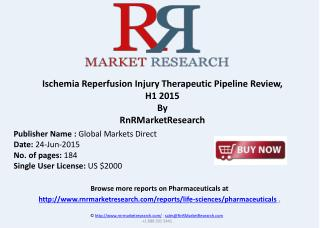 Ischemia Reperfusion Injury Therapeutic Pipeline Review, H1 2015