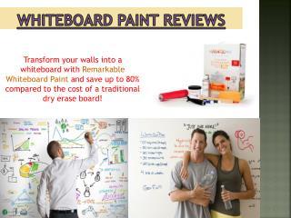 Whiteboard Paint Comparison