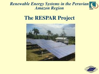 The RESPAR Project   Background and Status