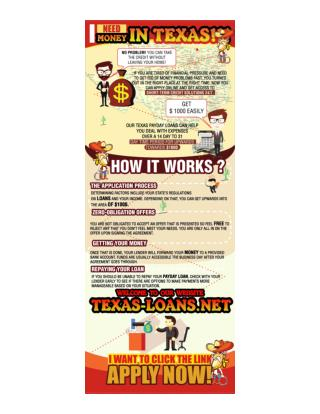 Texas payday loans online