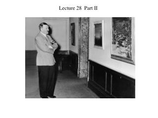Lecture 28  Part II