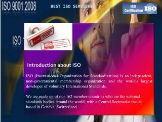 Grow your business with our ISO Services