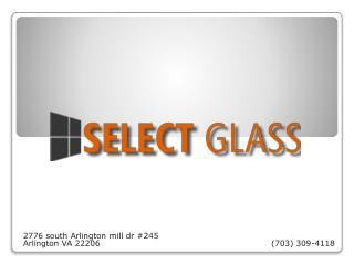 Select Glass And Windows