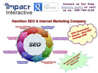 Full Service SEO & Internet Marketing Agency in Hamilton