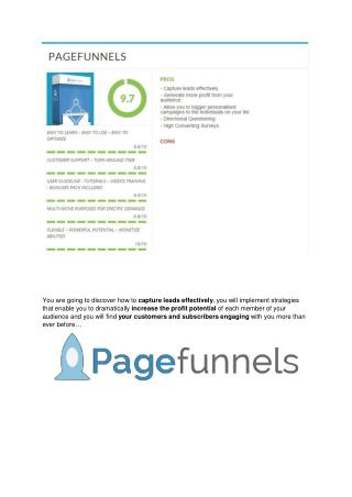 Page Funnels Success  review and sneak peek demo