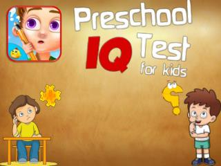 Preschool IQ Test for Kids