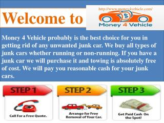 Welcome to Money 4 Vehicle