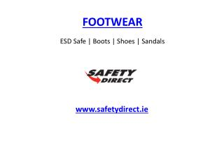 ESD Safe | Boots | Shoes | Sandals Footwear www.safetydirect.ie