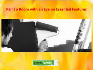 Paint a Room with an Eye on Essential Features