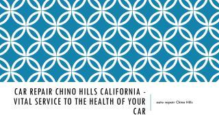 auto repair Chino Hills