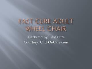 Buy Wheel Chairs Online in Bangalore