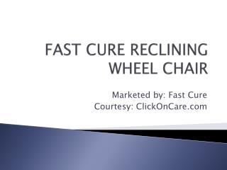 Buy reclining wheelchair online in Bangalore