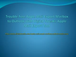 Export Mac Mail to Outlook 2011 for Mac