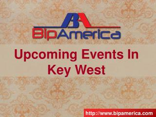 Upcoming Events In Key West