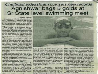 Agnishwar Jayaprakash Bags 5 Gold'05