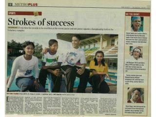 Agnishwar Jayaprakash Strokes of Success