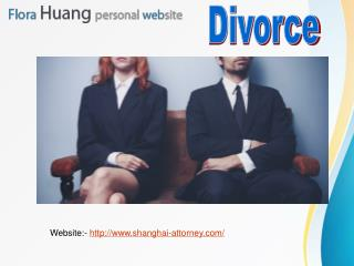 Experience divorce lawyer in Shanghai for knowing family law