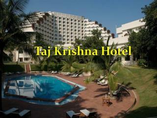 Taj Krishna Hotel Near at Banjara Hills, Hyderabad - Room Rates