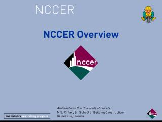 NCCER General Power Point
