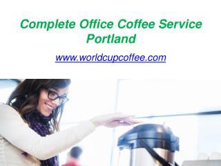 Best Office Coffee Company in Portland - www.worldcupcoffee.com