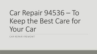 auto repair Fremont CA