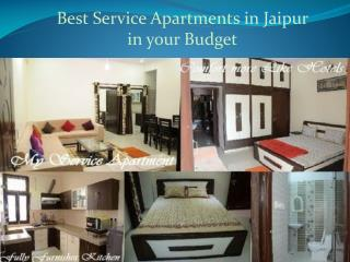 Best Service Apartments in Jaipur in Your Budget