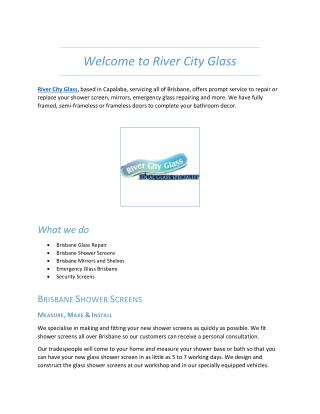 River City Glass - Glass Replacement Company