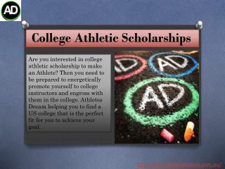 #College Athletic Scholarships