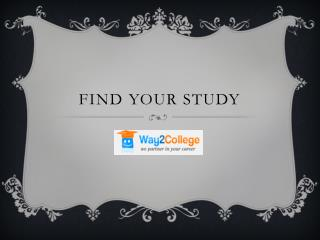 Find Your Study