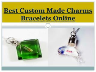 Best Custom Made Charms Bracelets Online