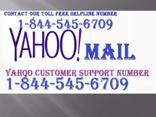 Yahoo Customer Support Number USA 1-844-545-6709