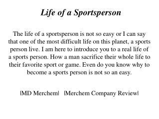 MD Merchem - Sportsman