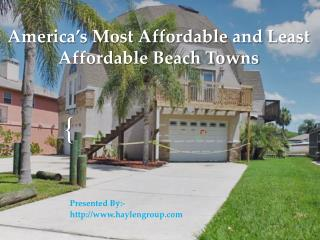 America's Most Affordable Beach Towns