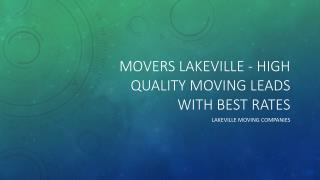 moving companies Lakeville