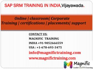 sap srm online training in usa