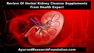 Review Of Herbal Kidney Cleanse Supplements From Health Expert