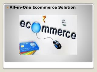 All-in-One Ecommerce Solution