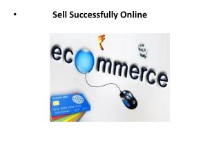 Sell Successfully Online