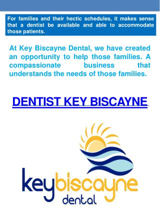 Oral Surgeon Key Biscayne