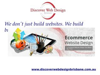 Ecommerce Web Site Developmet Brisbane