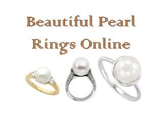 Beautiful Pearl Rings Online