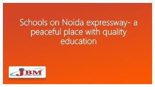 schools in noida